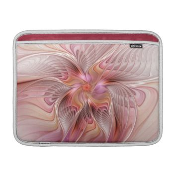 Abstract Butterfly Colorful Fantasy Fractal Art Sleeve For MacBook Air