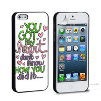 Ariana Grande Lyric Cover iPhone 4 5 6 Samsung Galaxy S3 4 5 iPod Touch 4 5 HTC One M7 8 Case