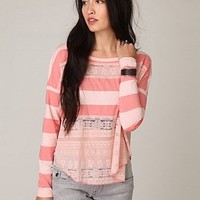 We The Free Long Sleeve Lacey Stripes Top at Free People Clothing Boutique