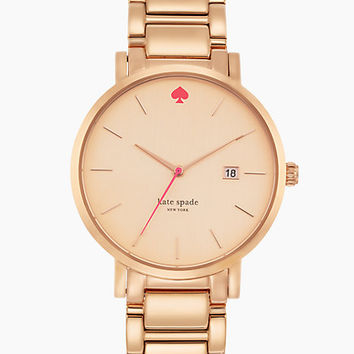 Kate Spade Gramercy Grand Watch Rose Gold ONE