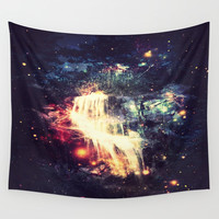 Enchanted Waterfall .. Wall Tapestry by 2sweet4words Designs