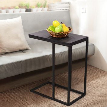 Costway Coffee Tray Side/End Table - Black