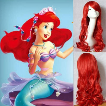 Ariel Wig, The Little Mermaid Cosplay Wig