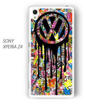 VW Volkswagen Bomb Sticker For Sony Xperia Z1/Z2/Z3 Phone case ZG