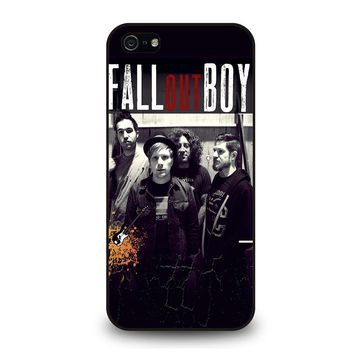 FALL OUT BOY PERSONIL iPhone 5 / 5S / SE Case