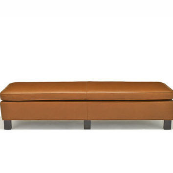 Krefeld Large Bench - Leather