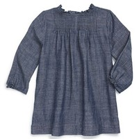 Infant Girl's Burberry 'Marissa' Chambray Dress,