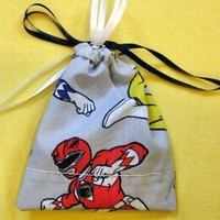 Poppy POWER RANGER Geek Bag Drawstring pouch