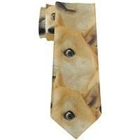 Doge Meme Funny All Over Neck Tie