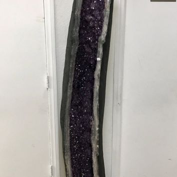Amethyst Cathedral 6 Foot Tall- AAA Amethyst from Brazil- Home Decor \ Druzy \ Crystal \ Reiki \ Geode \ Amethyst Geode \ Amethyst Crystal