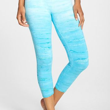 Women's Hard Tail Tie Dye Capris,