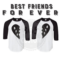 Best Friends Forever Raglan ( Set of 2 )