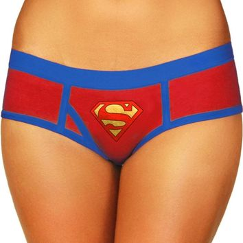 Wonder Woman Boyshort with Foil Logo