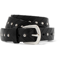 Anderson's - Studded leather belt