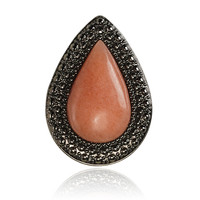 BOHEMIAN BARDOT RING - WATERMELON