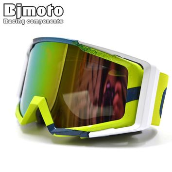 New Motocross Goggles Anti-distortion Dust-proof Motorcycle Goggles Ski Goggles Windproof Glasses for motorcycle dirt bike