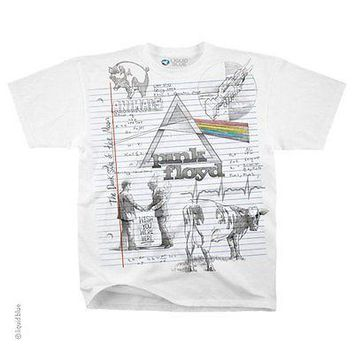 New PINK FLOYD SKETCH  T Shirt Wish you Were Here Animals