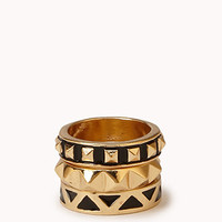 Spiked Ring Set