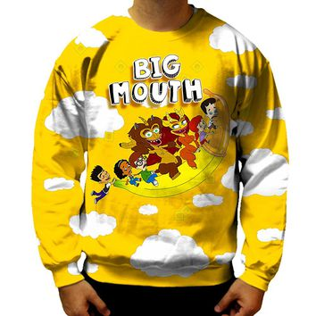 Big Mouth Flying Banana Sweatshirt