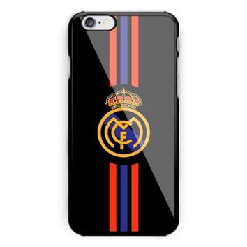 Real Madrid FC Logo Football Print On For iPhone 7 7+ Hard Plastic Cover Case