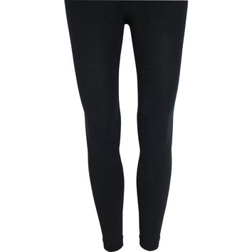 Fleece Lined Leggings in Black
