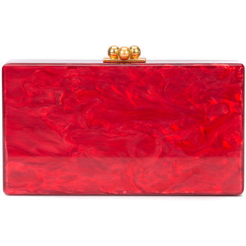 Edie Parker Marbled Effect Clutch - Farfetch