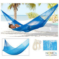 Glowing Sapphire Large Deluxe Hammock with Accessories (Mexico)