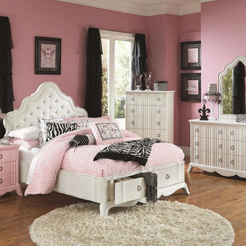 Naomi Twin Size Storage Bed