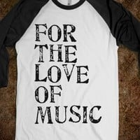ITS ALL OR THE LOVE OF MUSIC