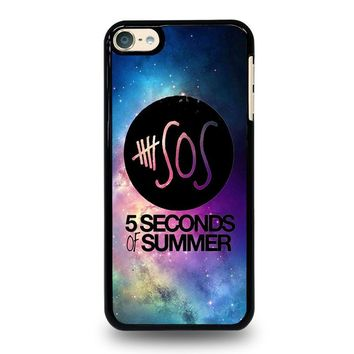 5 SECONDS OF SUMMER 1 5SOS iPod Touch 4 5 6 Case Cover