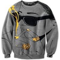 Smoking Gold Crewneck