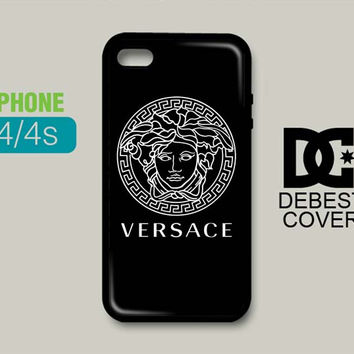 Versace Logo Pattern iPhone Cases