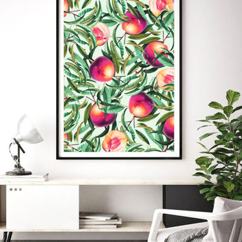 Sweet Peaches #society6 #decor #buyart by 83 Oranges™