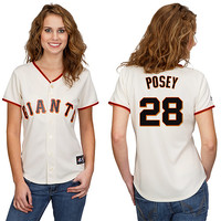 San Francisco Giants Buster Posey Women's Player Replica Jersey by Majestic Athletic - MLB.com Shop