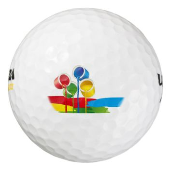 Artistic Paint Golf Balls
