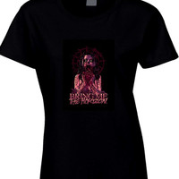 Bring Me The Horizon Zombie Girl Eat Heart Womens T Shirt
