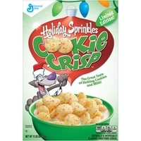Limited Edition Holiday Sprinkles Cookie Crisp Cereal, 11.25 oz - Walmart.com