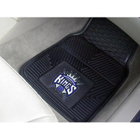 "Fan Mats Nba Sacramento Kings Heavy Duty 2 Piece Vinyl Car Mats 18""X27"""