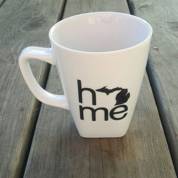 Michigan home coffee mug | drinkware