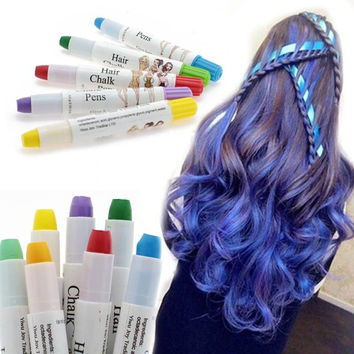 1 Pcs Beauty Temporary Super Comfortable Dye Colored Hair Pastel Hair Color Without Alcohol Crayon For The Hair