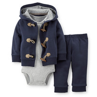 Baby Boy (NB-9M) Carter's 3 Piece Sweater Set | Boscov's