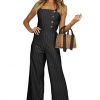 Black Frankie Jumpsuit For Women