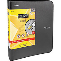 Five Star TruLock Binder 1 12 Rings Assorted Colors by Office Depot & OfficeMax