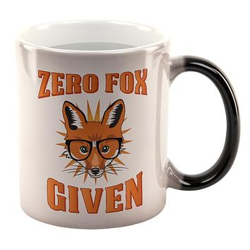 Zero Fox Given All Over Heat Changing Coffee Mug