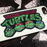 iPhone Cases   Ninja Turtles TMNT  Teenage Mutant by WeDoCustoms