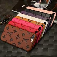 LV Louis Vuitton 2018 spring and summer new iPhone6Plus mobile phone shell F-OF-SJK