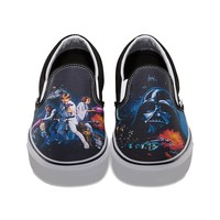 Vans Mens Classic Slip-On Shoes (Star Wars A New Hope) Mens Shoes at 7TWENTY Boardshop, Inc