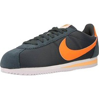 Nike Men's Classic Cortez Nylon Blue Fox/tart White Melon Tint