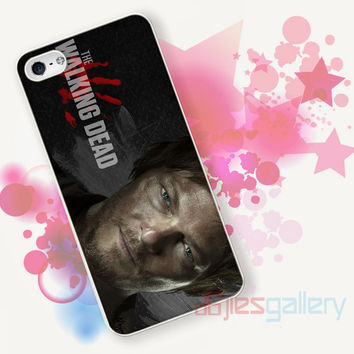 Daryl Dixon The Walking Dead for iPhone 4/4S, iPhone 5/5S, iPhone 5C, iPhone 6 Case - Samsung S3, Samsung S4, Samsung S5 Case