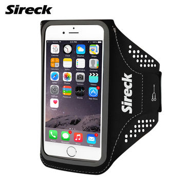 Sireck Sport Running Bag Waterproof Arm Bags For 5.0'' 5.8'' Phone Outdoor Gym Case Run Arms Package Running Accessories